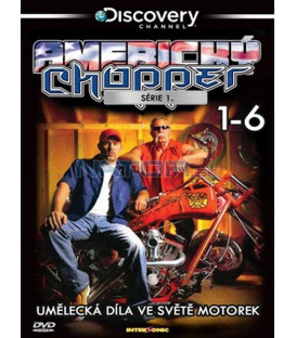 Americký chopper kolekce (American Chopper: The Series) 6xDVD plastbox