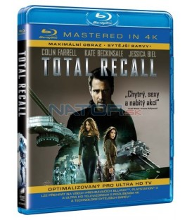 Total Recall (Total Recall ) 2012 (4 K MASTERED) BLU-RAY