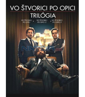 Vo štvorici po opici 1-3 KOLEKCE / PAŘBA 1-3 KOLEKCE (The Hangover 1-3 Collection ) DVD