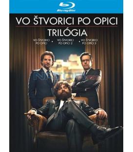 Vo štvorici po opici 1-3 KOLEKCE / PAŘBA 1-3 KOLEKCE (The Hangover 1-3 Collection ) - Blu-ray