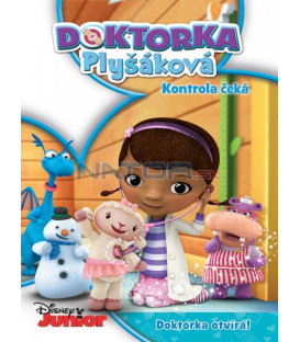 DOKTORKA PLYŠÁKOVÁ: KONTROLA ČEKÁ (Doc McStuffins: Time For Your Check-Up) DVD