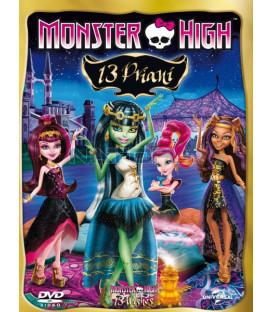 MONSTER HIGH: 13 PŘÁNÍ (Monster High: 13 Wishes) DVD