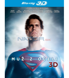 MUŽ Z OCELI (Man of Steel) - 2Blu-ray 3D + 2D