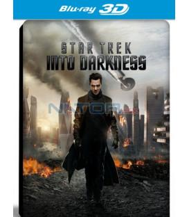 STAR TREK: DO TEMNOTY (Star Trek Into Darkness) - 3D + 2D Blu-ray steelbook
