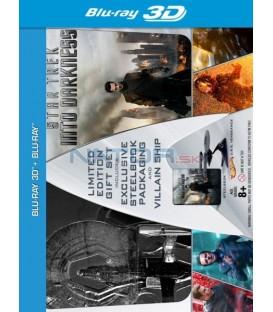 STAR TREK Do temnoty (STAR TREK Into Darkness) 3D + 2D Sběratelská limitovaná dárková edice (2BD) (Blu-ray 3D)