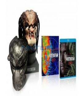 PREDÁTOR (Limitovaná sběratelská edice + HLAVA) - Blu-ray 3D + 2D