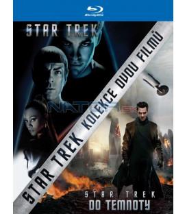 STAR TREK + STAR TREK: DO TEMNOTY (Kolekce 2 BD) - Blu-ray