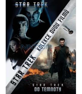 STAR TREK + STAR TREK: DO TEMNOTY (Kolekce 2 filmů) - 2 DVD