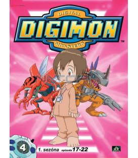 DIGIMON 1.SÉRIE - epizody 17 - 22 DVD