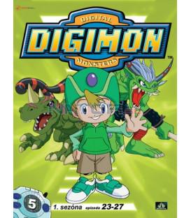 DIGIMON 1.SÉRIE - epizody 23 - 27 DVD