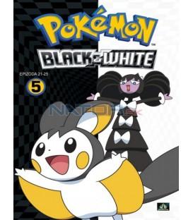 Pokémon: Black & White 21.-25.díl (DVD 5)