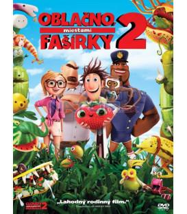 Oblačno, miestami fašírky 2 SK/CZ dabing - animovaný (Cloudy with a Chance of Meatballs 2) DVD
