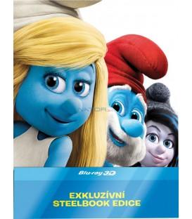 ŠMOULOVÉ 2 (The Smurfs 2) 2013 - Blu-ray 3D + 2D steelbook