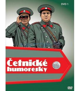 Četnické humoresky 1 - 5 x DVD
