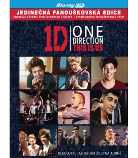 One Direction: This Is Us (One Direction: This Is Us) - Blu-ray 3D (obsahuje 2 disky, 3D/2D BD + DVD)