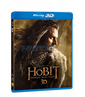 HOBIT: ŠMAKOVA DRAČÍ POUŠŤ (Hobbit: The Desolation Of Smaug) - 4 Blu-ray 3D + 2D