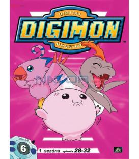 DIGIMON 1.SÉRIE - epizody 28 - 32 DVD