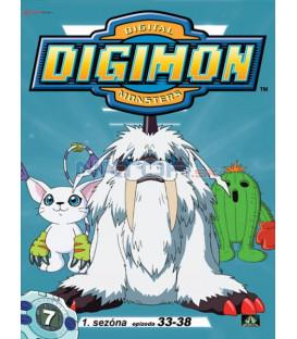 DIGIMON 1.SÉRIE - epizody 33 - 38 DVD