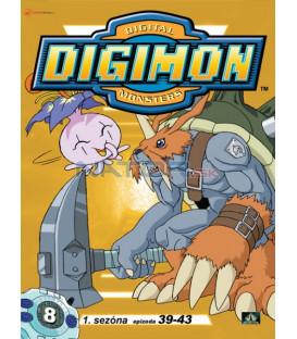 DIGIMON 1.SÉRIE - epizody 39 - 43 DVD