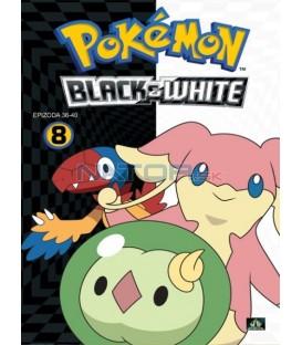 Pokémon: Black & White 36.-40. díl (DVD 8)