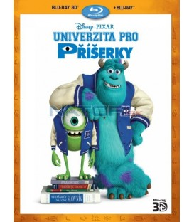 UNIVERZITA PRO PŘÍŠERKY 2013 (Monsters University) Příšerky, s.r.o. 2 - 2 X Blu-ray 3D+2D