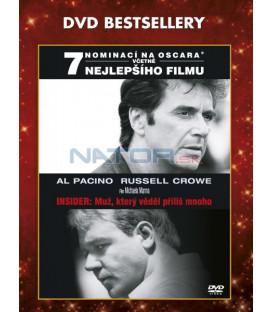 Insider: Muž, který věděl příliš mnoho (The Insider) CZ DABING - DVD bestsellery