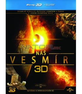 Náš vesmír (Our Universe 3D 2012) Blu-ray 3D