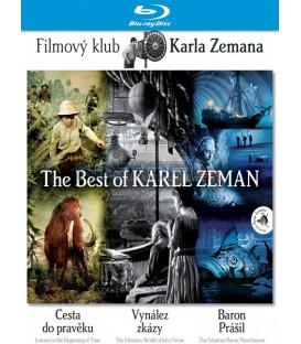 Kolekce Karel Zeman: Cesta do pravěku, Baron Prášil, Vynález zkázy 3 x Blu-ray