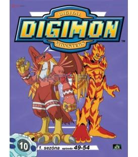 DIGIMON 1.SÉRIE - epizody 49 - 54 DVD