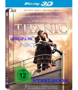 Titanic - Blu-ray 3D + 2D (4 BD) STEELBOOK