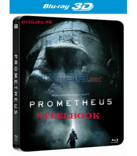 Prometheus - Blu-ray 3D + 2D (3 BD) STEELBOOK