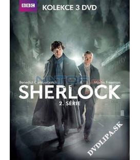 Sherlock 2. séria 3 X DVD seriál