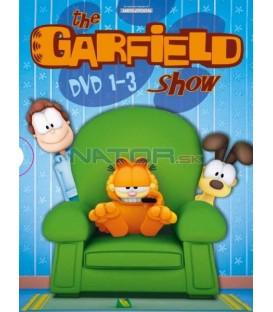 Garfield kolekcia (1-3 DVD)