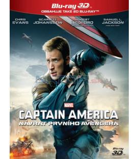 Captain America: Návrat prvního Avengera (Captain America: Winter Soldier) Blu-ray 3D + 2D