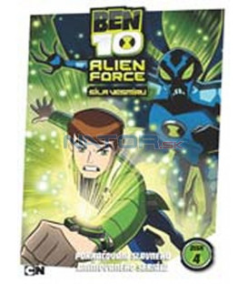 Ben 10: ALIEN FORCE – 4. DVD – SLIM BOX DVD