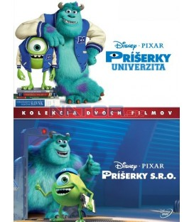 Príšerky kolekce 1.-2. 2DVD SK (Monsters Inc. + Monsters University) DVD