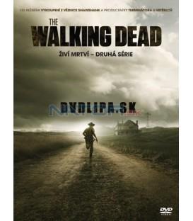 THE WALKING DEAD: Živí mrtví - 2. sezóna 4 x DVD