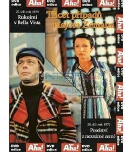 Třicet případů majora Zemana 27, 28 DVD