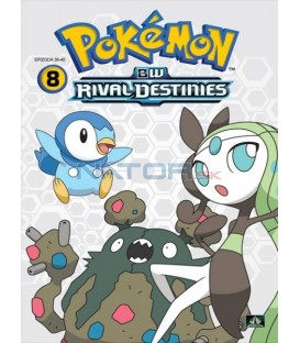 Pokémon: B&W Rival Destinies 36.-40. díl (DVD 8)