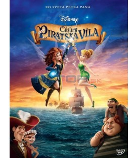 Zvonilka a piráti (Tinker Bell and the Pirate) DVD