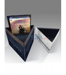 TITANIC 3D + 2D Výroční redesignovaná sběratelská limitovaná edice 4BD (Blu-ray 3D)