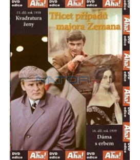 Třicet případů majora Zemana 15, 16 DVD