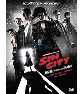 Sin City: Ženská, pro kterou bych vraždil (Sin City: A Dame to Kill For) DVD