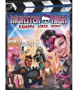 MONSTER HIGH: Kamera, Lebka, Jedem! (Monster High: Frights, Camera, Action!) DVD
