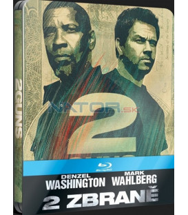 2 ZBRANĚ (2 Guns) - Blu-ray STEELBOOK