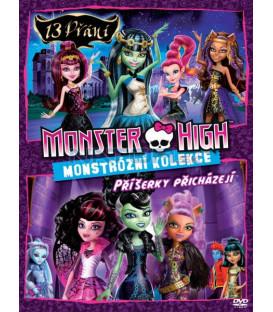 Kolekce Monster High (Monster High: 13 přání + Monster High: Příšerky přicházejí) DVD