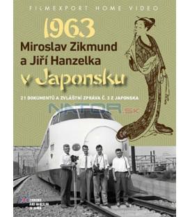 Miroslav Zikmund a Jiří Hanzelka v Japonsku 1963 - 2x DVD