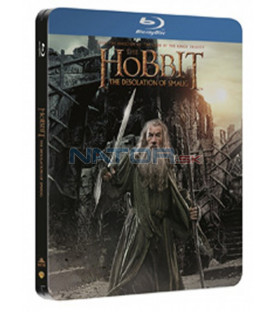 Hobit: Šmakova dračí poušť (The Hobbit: The Desolation of Smaug) 2Blu-ray steelbook