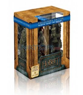 Hobit: Šmakova dračí poušť (The Hobbit: The Desolation of Smaug) 4Blu-ray 3D+2D Bookends