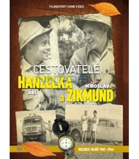 Hanzelka a Zikmund - sběratelská kolekce 9 DVD
